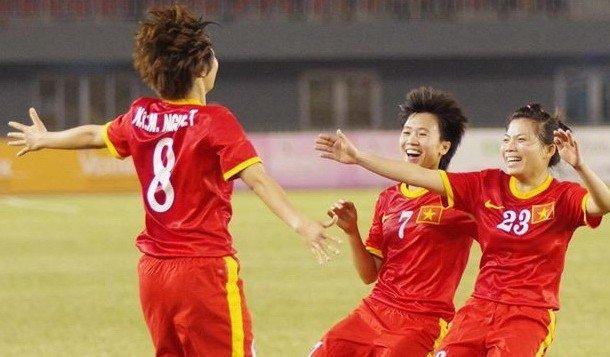 Đội tuyển nữ Việt Nam vô địch SEA Games 29.