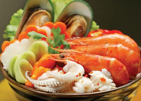 Hải sản là món ăn dễ bị ngộ độc