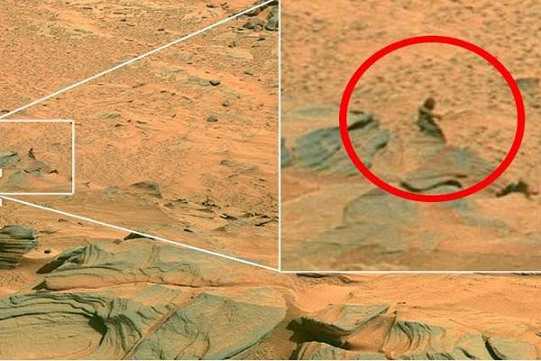 Khám phá bí ẩn về người sao Hỏa