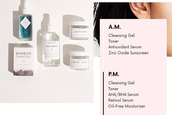 Cách chăm sóc làm đẹp da tại nhà của các cô nàng oily skin là tập trung vào việc làm sạch dầu và bụi bẩn trong lỗ chân lông để tránh tình trạng nhiễm trùng và nổi mụn sưng viêm
