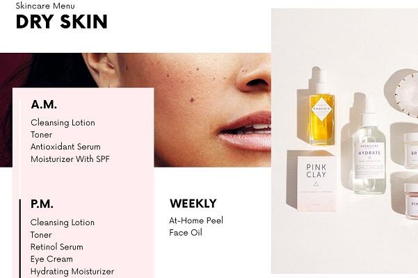 Làn da khô quan trọng nhất là quá trình cấp ẩm và cấp nước làm đẹp da