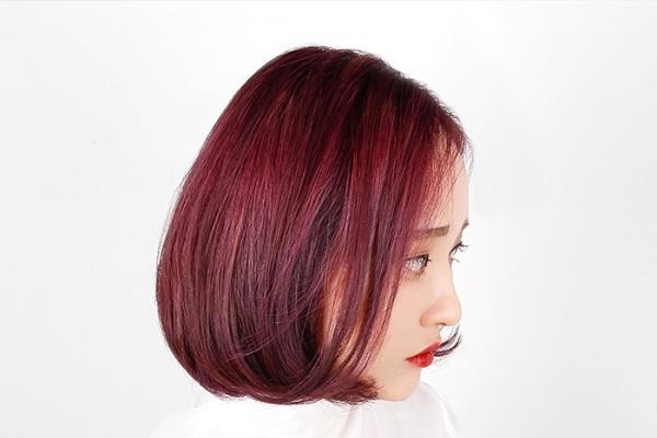 màu tóc làm đẹp mùa thu 2017