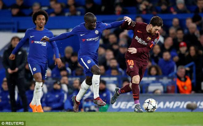 Chelsea cầm hòa Barca