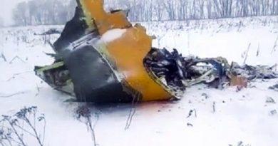 71 người trên khoang thiệt mạng trên chuyến máy bay rơi gần Moscow,