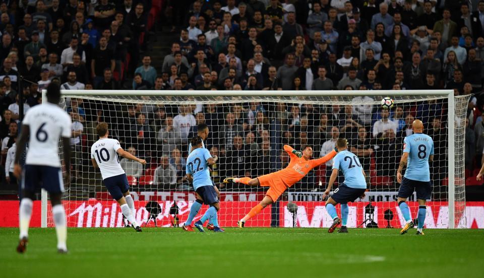 Tottenham đã lấy được tấm vé Champons League
