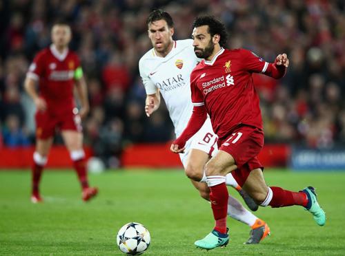 Roma tái đấu Liverpool bị thiếu 2 trụ cột