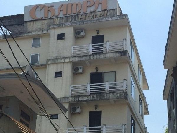 Khách sạn Champa nơi xảy ra sự việc.