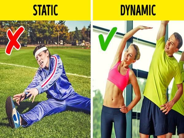 Hãy dừng lại ngay thói quen kéo giãn cơ thể trước khi khởi động vì cho rằng như thế rất có lợi cho việc tập luyện.