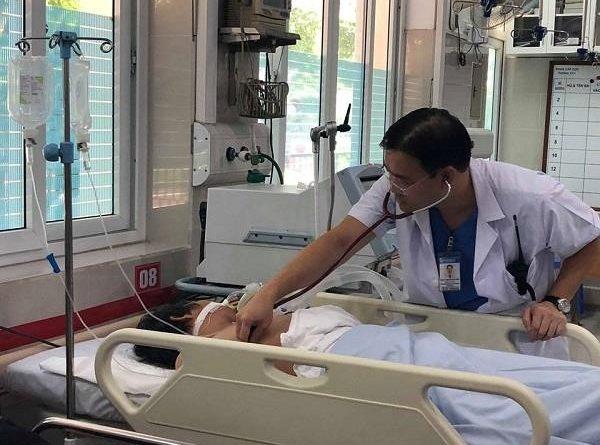 Bệnh nhân được cấp cứu tích cực.