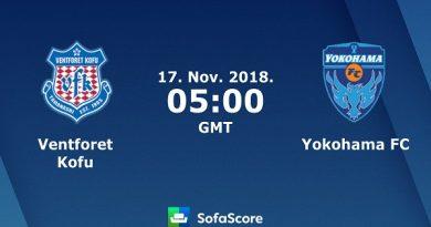 Nhận định Ventforet Kofu vs Yokohama, 12h00 ngày 17/11: V42, Hạng 2 Nhật Bản