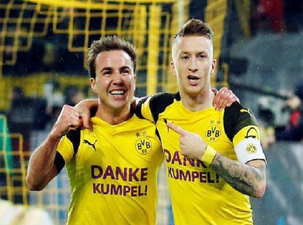 Dortmund: Nấc thang lên thiên đường sau lượt đi
