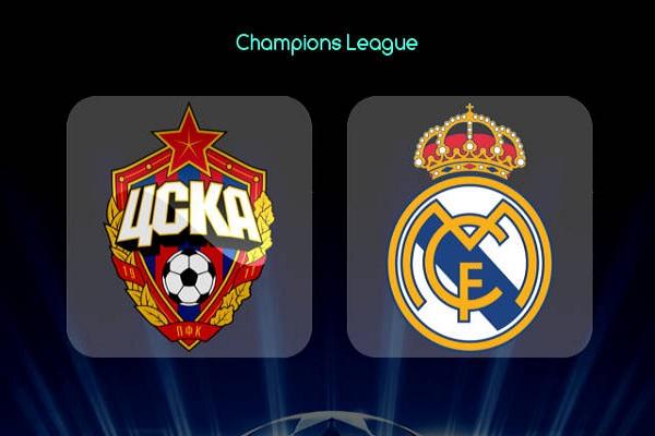 Nhận định Real Madrid vs CSKA Moscow