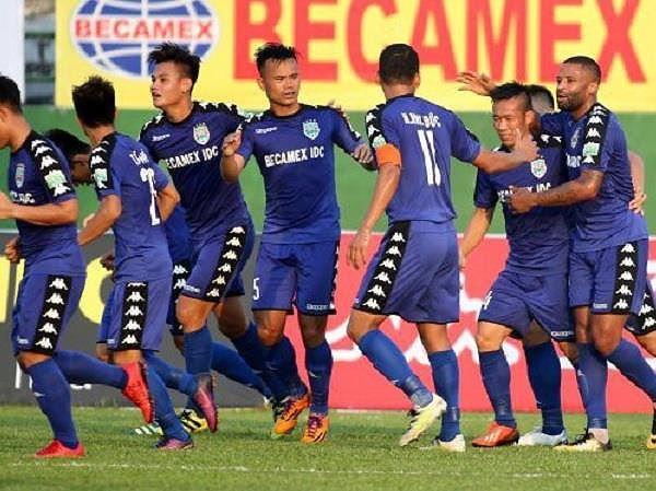 Cầu thủ Bình Dương lập nên siêu phẩm tại AFC Cup