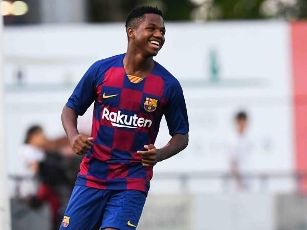 Barca muốn ký hợp đồng mới với thần đồng Fati