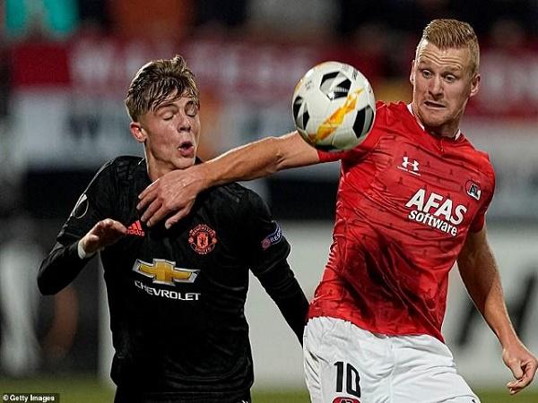 Hòa thất vọng AZ Alkmaar, MU lập kỷ lục tồi tệ chưa từng có