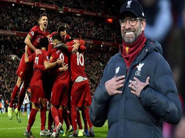 Kỷ lục của Liverpool sắp cân bằng Man City