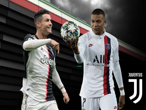 Juventus mua Mbappe về đá cặp với Ronaldo