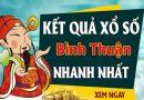 Dự đoán kết quả XS Bình Thuận Vip ngày 06/08/2020