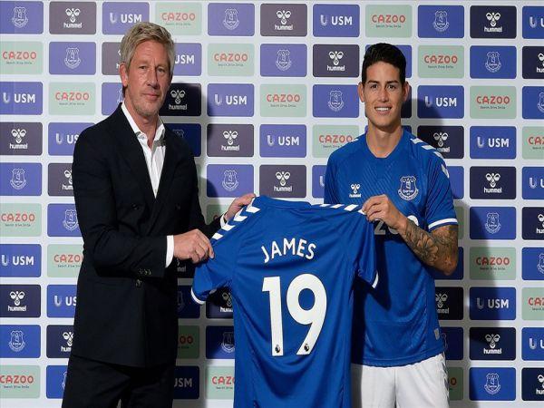 Chuyển nhượng chiều 8/9: Everton chiêu mộ thành công James Rodriguez