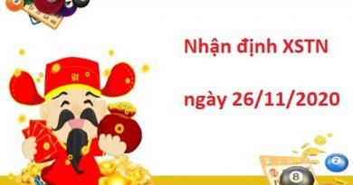 Nhận định XSTN 26/11/2020 – Nhận định xổ số Tây Ninh siêu chuẩn