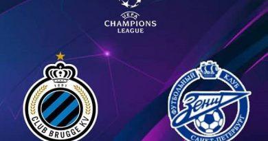 Soi kèo Club Brugge vs Zenit – 03h00 03/12, Champions League
