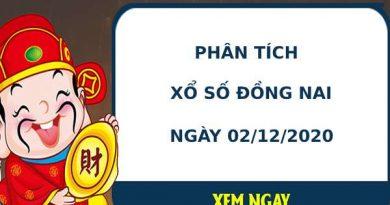Phân tích kết quả XS Đồng Nai ngày 02/12/2020