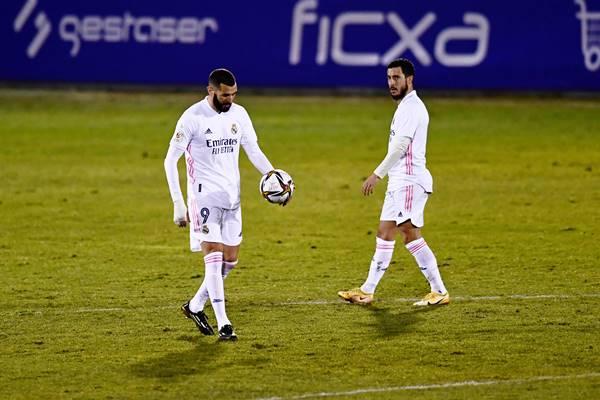Real Madrid bất ngờ bị loại khỏi Cúp Nhà vua Tây Ban Nha