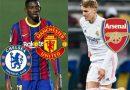 Tin thể thao 25/1: Chelsea đua MU giành đồng đội của Messi