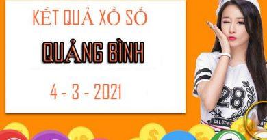 Soi cầu Xổ Số Quảng Bình thứ 5 ngày 4/3/2021