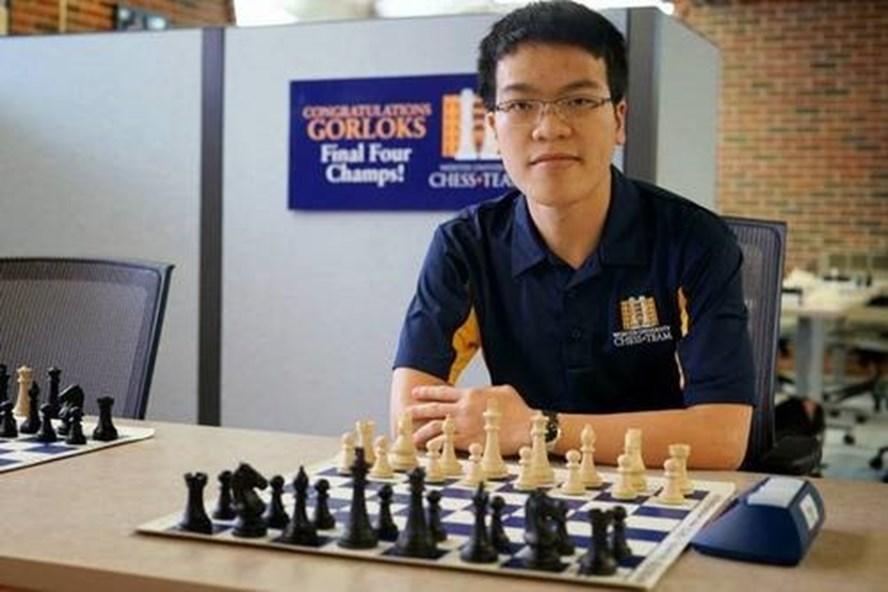 Lê Quang Liêm là huấn luyện viên đội cờ vua trường đại học Webster (Mỹ)