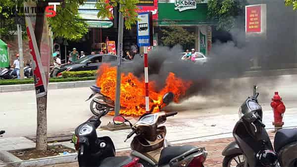 Mơ thấy cháy xe máy điềm báo gì