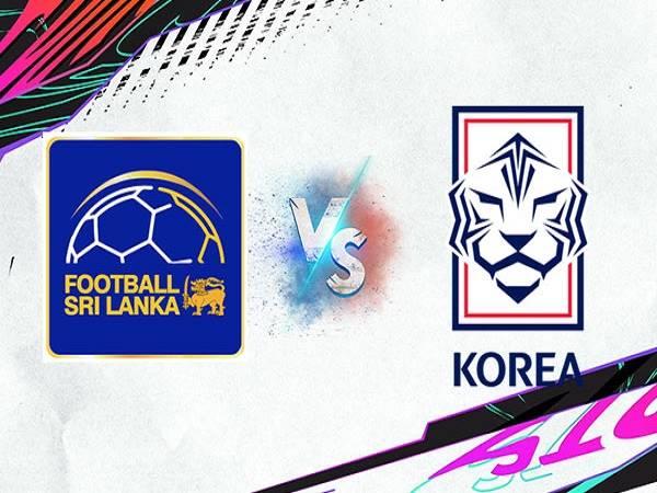 Nhận định Sri Lanka vs Hàn Quốc – 18h00 09/06/2021, VLWC KV Châu Á