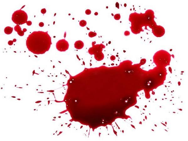 Mơ thấy vết máu
