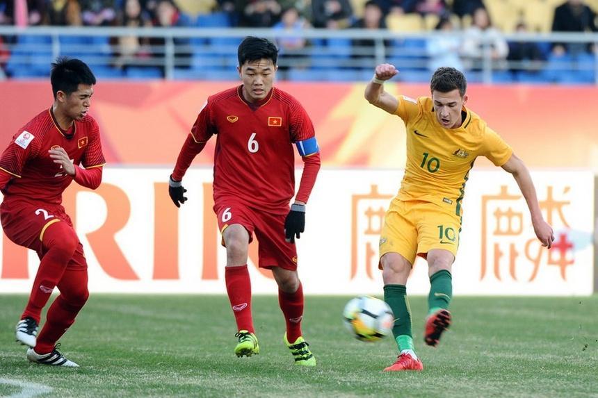 Việt Nam thua 0-1 Australia: Đá hay nhất Trọng Hoàng, Hồng Duy