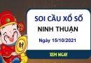 Soi cầu KQXSNT ngày 15/10/2021 chốt bạch thủ lô đài Ninh Thuận